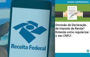 Omissao De Declaracao De Imposto De Renda Entenda Como Regularizar O Seu Cnpj - Contabilidade em Nova Iguaçu - RJ | AMR Contabilidade
