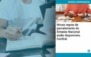 Novas Regras De Parcelamento Do Simples Nacional Estao Disponiveis Confira - Contabilidade em Nova Iguaçu - RJ | AMR Contabilidade