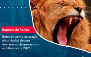 Entenda Como Os Casais Divorciados Devem Declarar As Despesas Com Os Filhos No Ir 2021 1 - Contabilidade em Nova Iguaçu - RJ | AMR Contabilidade
