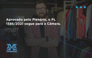 Aprovado Pleno Plenario O Pl 15852021 Segue Para A Camara Amr Contabilidade - Contabilidade em Nova Iguaçu - RJ | AMR Contabilidade