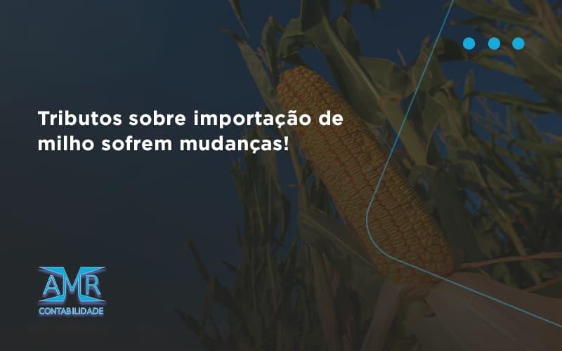 Tributos Sobre Importação De Milho Sofrem Mudanças! Amr Contabilidade - Contabilidade em Nova Iguaçu - RJ | AMR Contabilidade