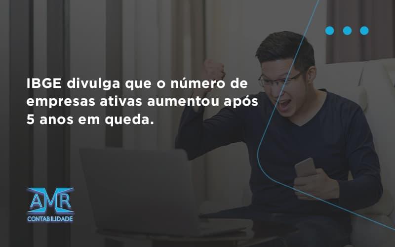 Ibge Divulga Que Numero De Empresa Ativas Aumentou Amr Contabilidade - Contabilidade em Nova Iguaçu - RJ | AMR Contabilidade